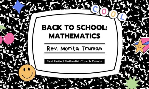Back To School Sermon Series - Math